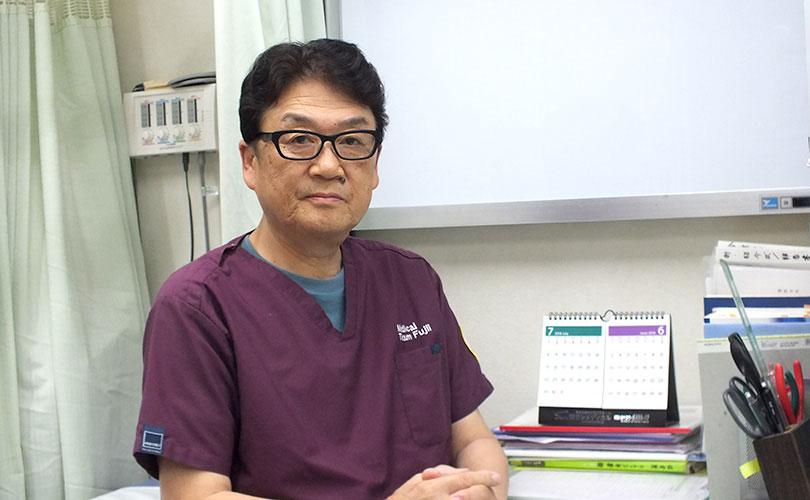代表 藤井賢二